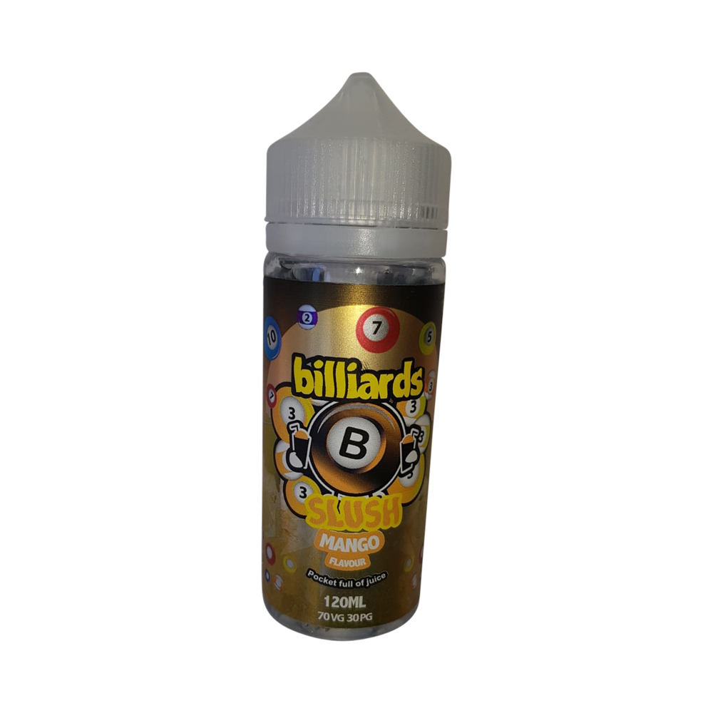 Billiards Slush – Mango – (70VG/30PG) 0mg 100ml