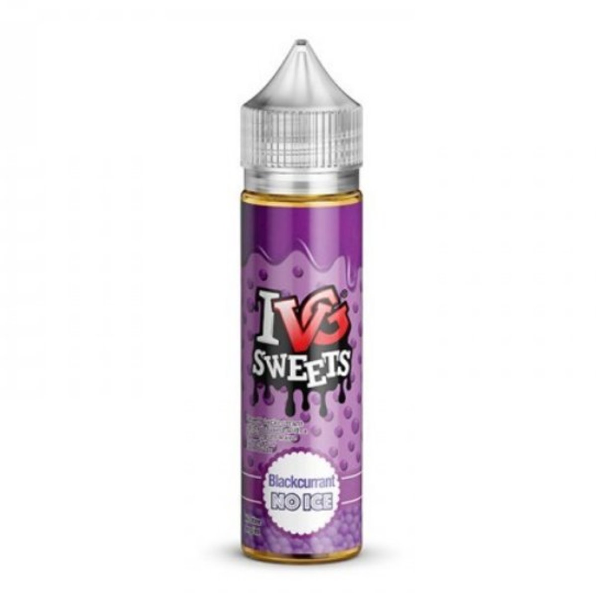 IVG Sweets – No Ice Blackcurrant – (70VG/30PG) 0mg 50ml