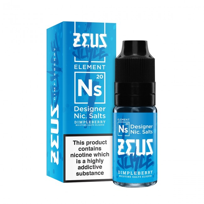 Zeus Juice – Dimpleberry Nicotine Salts – 20mg 10ml