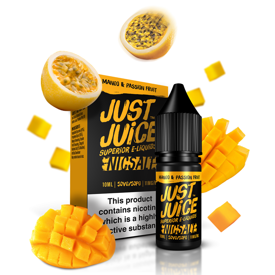 JUST JUICE Nic Salts Mango & Passionfruit